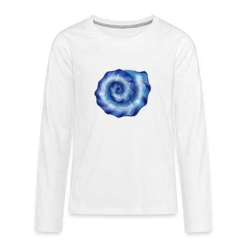 Galaktische Spiralenmuschel! - Teenager Premium Langarmshirt