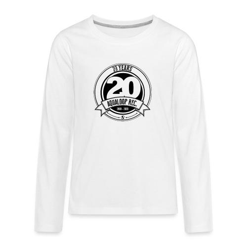 20Y Aqualoop Records - Teenagers' Premium Longsleeve Shirt