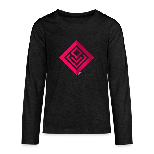 Cabal (with label) - Teenagers' Premium Longsleeve Shirt