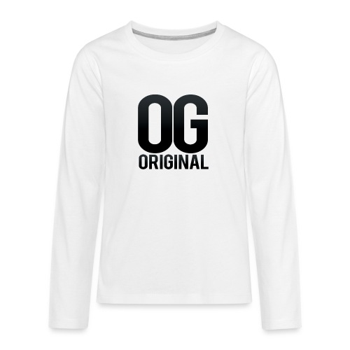 OG as original - Teenagers' Premium Longsleeve Shirt