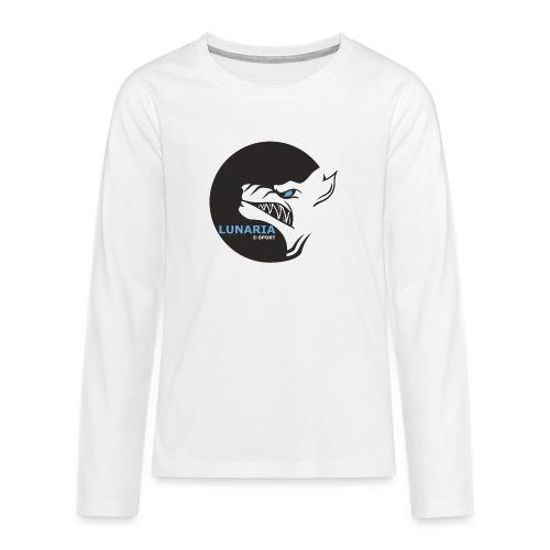 Lunaria_Logo tete pleine - T-shirt manches longues Premium Ado