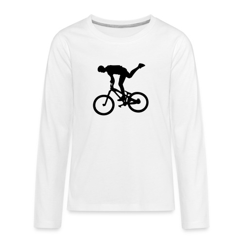 One Foot - T-shirt manches longues Premium Ado