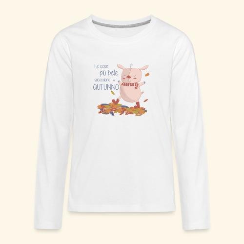 Autumn - Teenagers' Premium Longsleeve Shirt