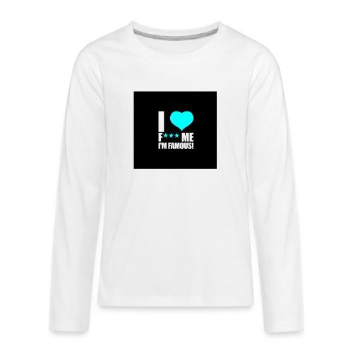 I Love FMIF Badge - T-shirt manches longues Premium Ado