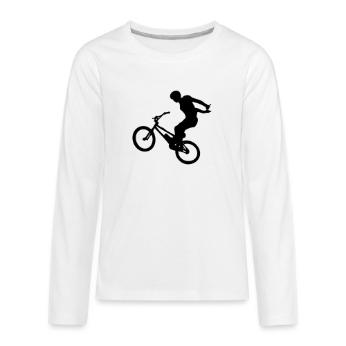 No Hand - T-shirt manches longues Premium Ado