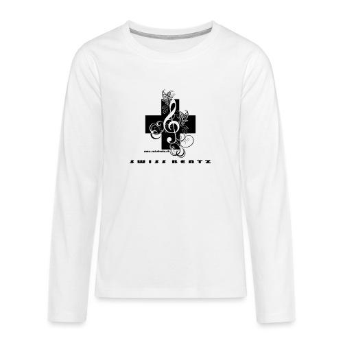 Swiss Beatz Logo with L - Teenager Premium Langarmshirt