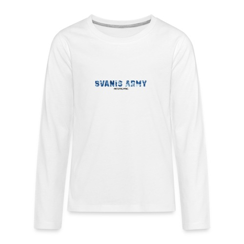 SVANIS ARMY, SWEDISHGAMING - Långärmad premium T-shirt tonåring
