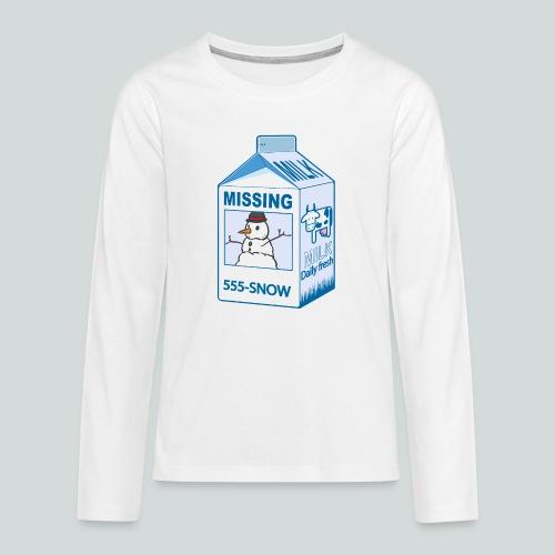 Missing : snowman - T-shirt manches longues Premium Ado