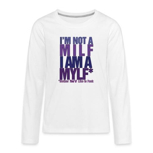 MYLF - Premium langermet T-skjorte for tenåringer