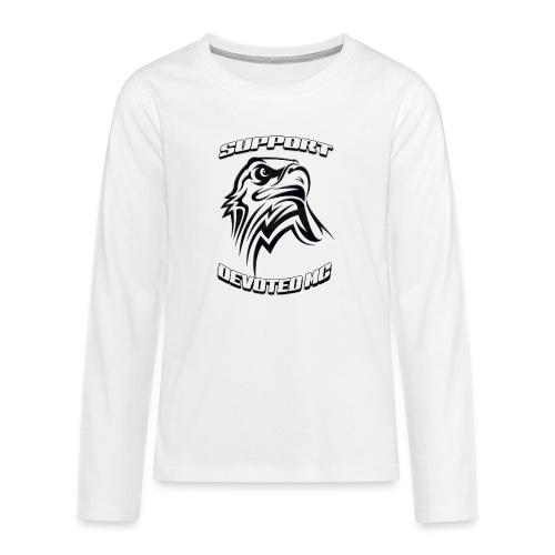 SUPPORT DEVOTEDMC E - Premium langermet T-skjorte for tenåringer