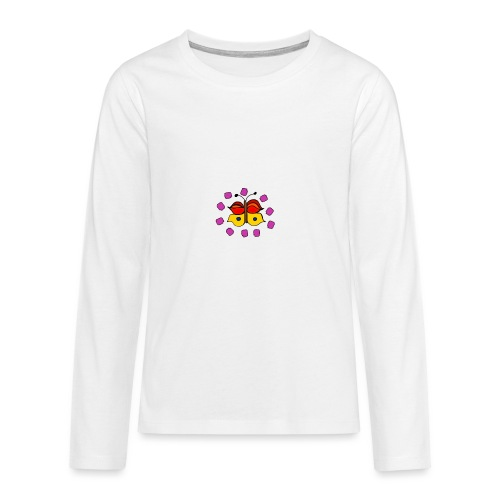 Butterfly colorful - Teenagers' Premium Longsleeve Shirt