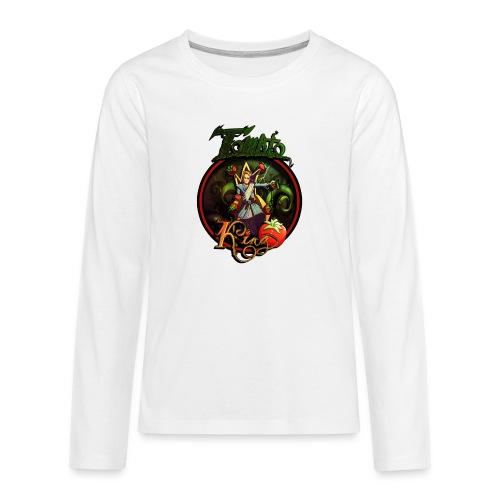 Tomato King - Långärmad premium T-shirt tonåring