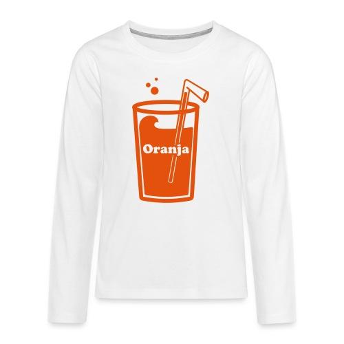 Oranja - Teenager Premium shirt met lange mouwen