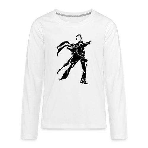 dancesilhouette - Teenagers' Premium Longsleeve Shirt