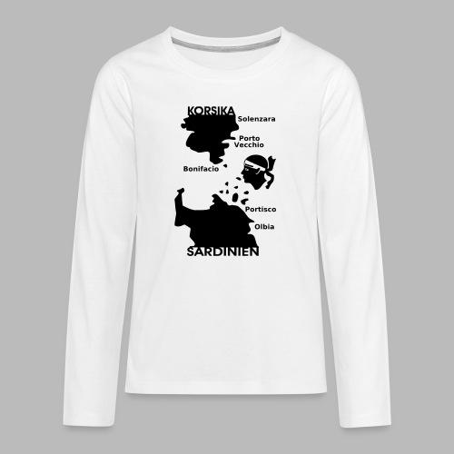 Korsika Sardinien Mori - Teenager Premium Langarmshirt