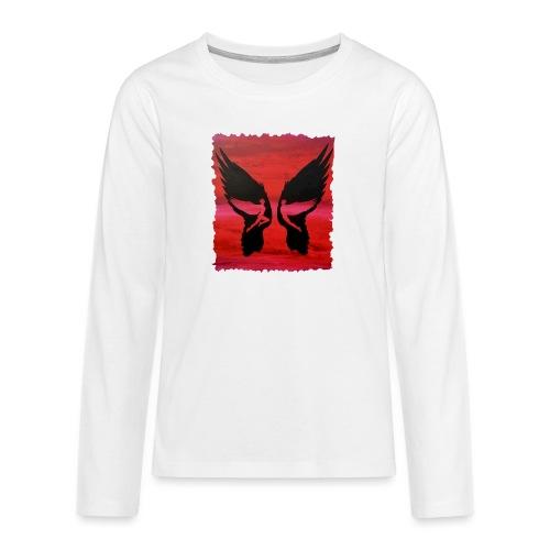 Schutzengel - Teenager Premium Langarmshirt