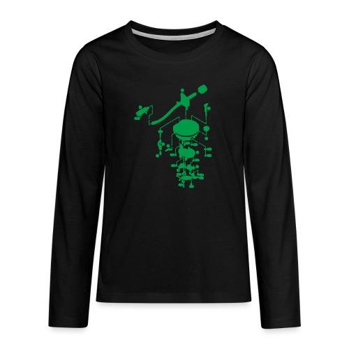 tonearm05 - Teenager Premium shirt met lange mouwen