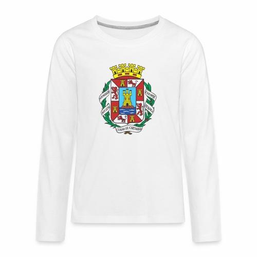Escudo Cartagena - Camiseta de manga larga premium adolescente