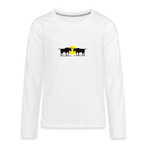 Taurus Bull - Teenagers' Premium Longsleeve Shirt