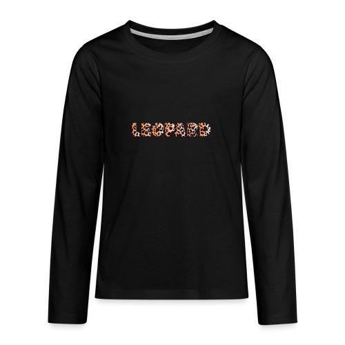 leopard 1237253 960 720 - Teenager Premium Langarmshirt