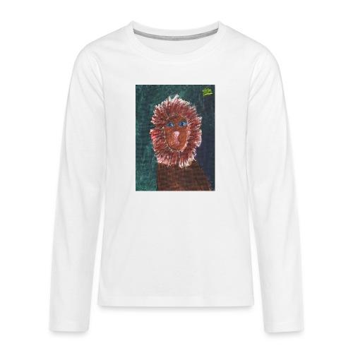 Lion T-Shirt By Isla - Teenagers' Premium Longsleeve Shirt