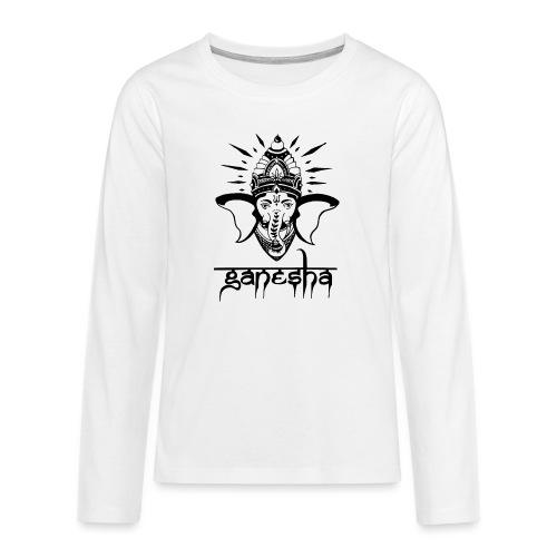 Ganesha - Teenager Premium Langarmshirt