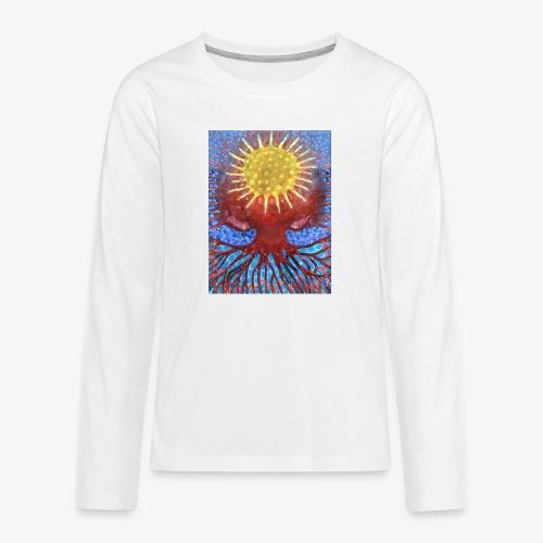 Niebiańskie Drzewo - Koszulka Premium z długim rękawem dla nastolatków