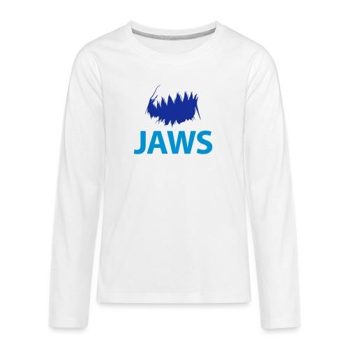 Jaws Dangerous T-Shirt - Teenagers' Premium Longsleeve Shirt