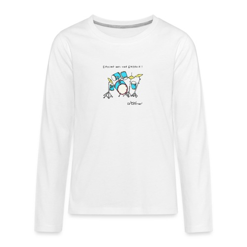 Luigi Drum - Teenagers' Premium Longsleeve Shirt