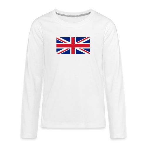 United Kingdom - Teenagers' Premium Longsleeve Shirt