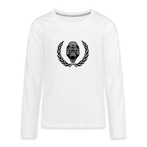 therealkingdomoficial - Camiseta de manga larga premium adolescente