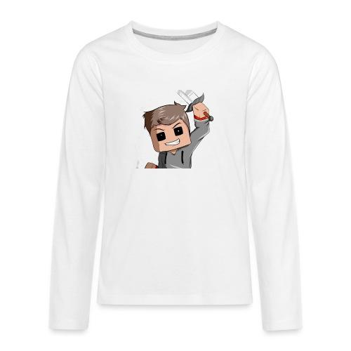 AwaZeK design - T-shirt manches longues Premium Ado