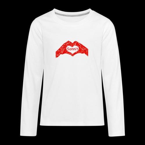 Sonnit Valentines - Teenagers' Premium Longsleeve Shirt