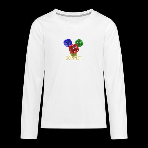 Sonnit Dice - Teenagers' Premium Longsleeve Shirt