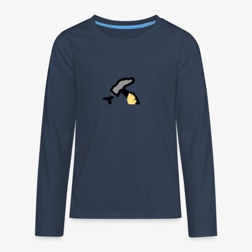 Mateba - Teenager premium T-shirt med lange ærmer