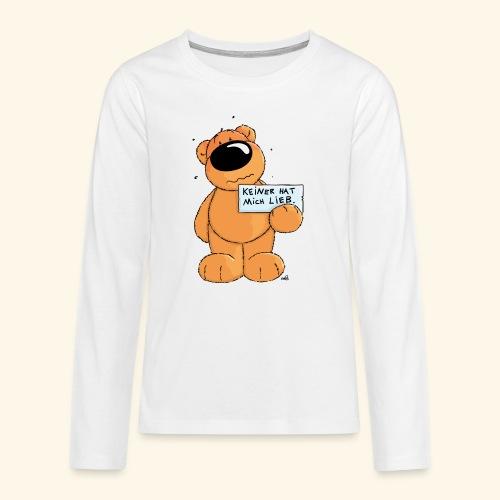 chris bears Keiner hat mich lieb - Teenager Premium Langarmshirt