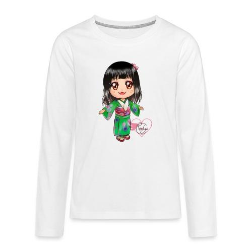 Rosalys crossing - T-shirt manches longues Premium Ado