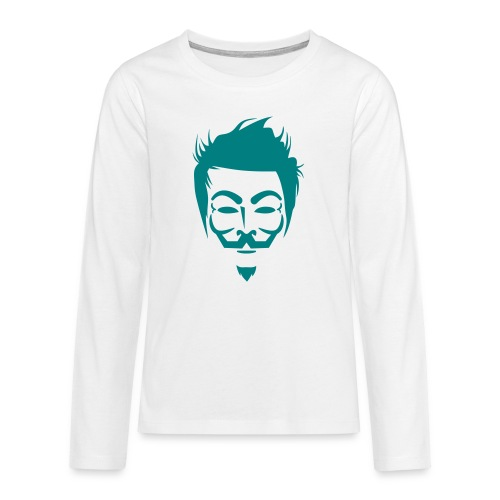 Anonymous Hipster - T-shirt manches longues Premium Ado