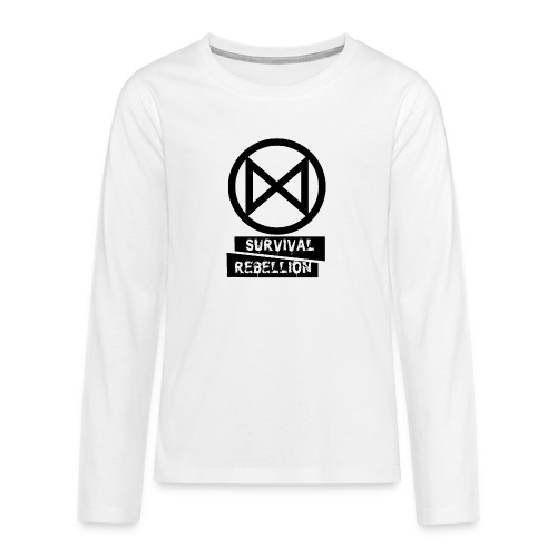 Extinction Rebellion - Maglietta Premium a manica lunga per teenager