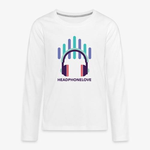 headphonelove - Teenager Premium Langarmshirt