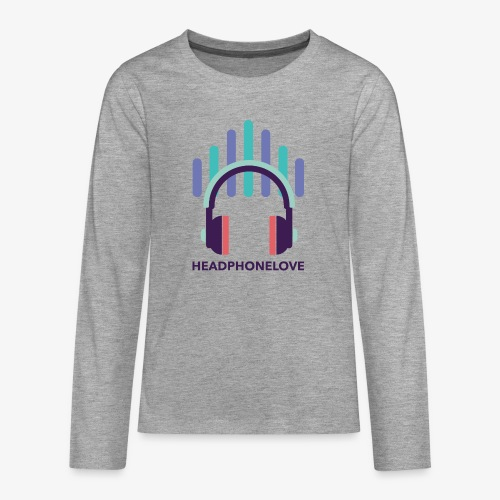 headphonelove - Teenager Premium Langarmshirt