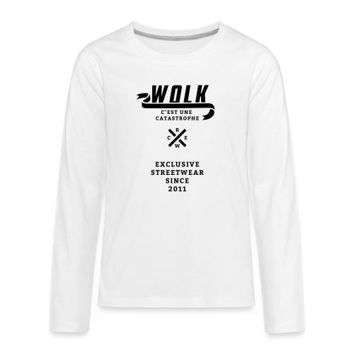 varsityx04 - Teenager Premium shirt met lange mouwen