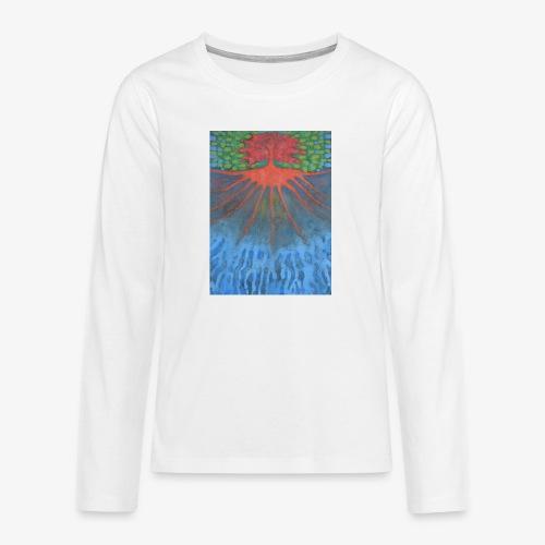 Drzewo Źycia - Koszulka Premium z długim rękawem dla nastolatków