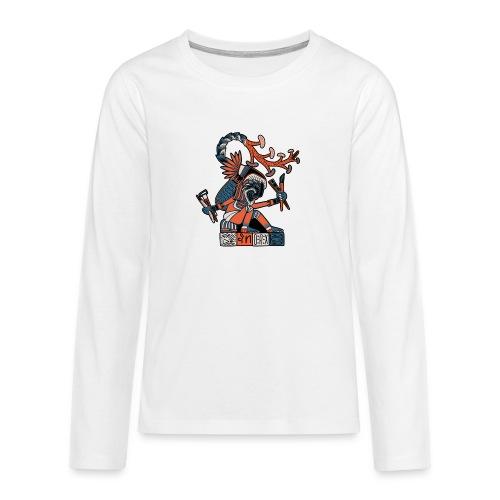 MAESTRO MEZCALERO PREHISPÁNICO - Camiseta de manga larga premium adolescente