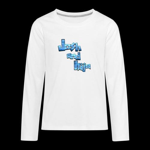 Josh and Ilija - Teenagers' Premium Longsleeve Shirt