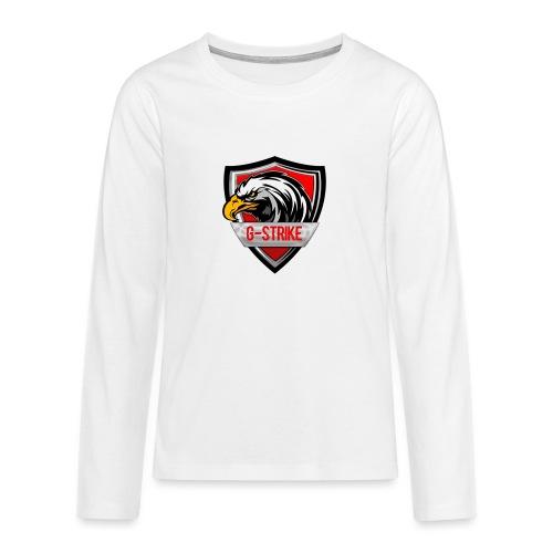 Logo sem back 1000x1000 png - Teenagers' Premium Longsleeve Shirt