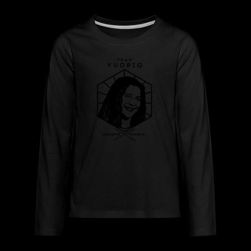 Vuorio WW 18 - Teinien premium pitkähihainen t-paita