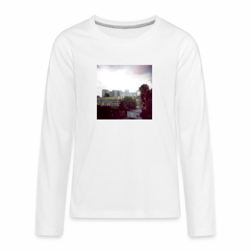 Original Artist design * Blocks - Teenagers' Premium Longsleeve Shirt