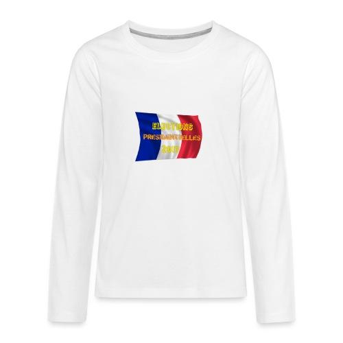 ELECTIONS 2017 - T-shirt manches longues Premium Ado
