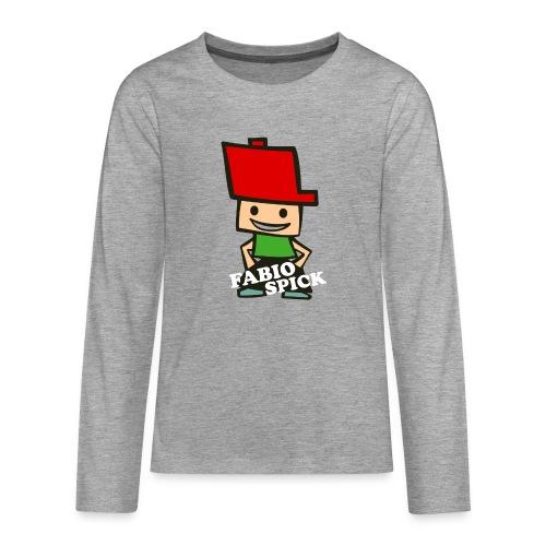 Fabio Spick - Teenager Premium Langarmshirt